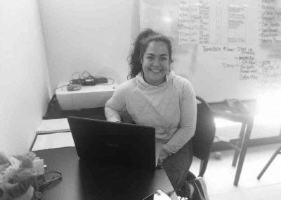 Cristina becaria en tomalaweb 2