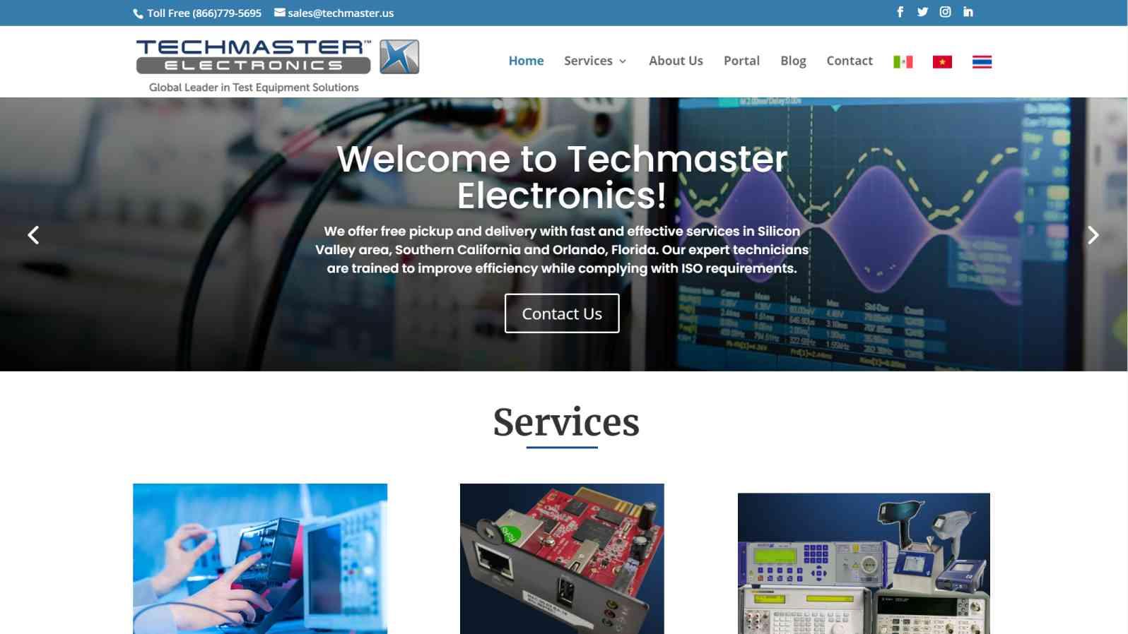 TechMasters Cliente de diseño web